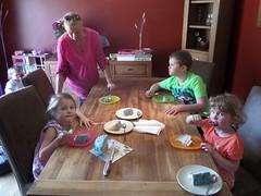 Cake tasting (BuddaBoy) Tags: birthday cake jake amy jessica mum robyn gillian