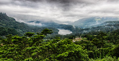 View from the mountains of Ceylon (PhotographyWren) Tags: world travel cloud mist mountains water fog canon landscape asia tea wideangle srilanka ceylon amateur natgeo londoner canonphotography