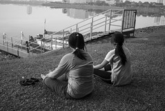 L9991731bw (ferry160102) Tags: bw rest waduk pluit
