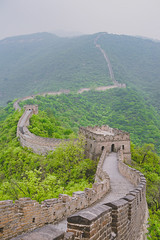 Great Wall | Mutianyu section | China 2016 #132/365 (A. Aleksandravičius) Tags: china old travel mountains nature wall forest 35mm construction nikon great sigma 365 section mutianyu 2016 sigma35 project365 365days d810 132365 nikond810 sigma35mmf14dghsmart 3652016