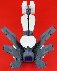 Belial Underside (Cuahchic) Tags: lego space bricks alien engine technic snot eveonline coolingfins foitsop