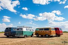2 By 2 (Eric Arnold Photography) Tags: two arizona sky bus window phoenix buses vw clouds rural volkswagen four bay 4 az vans van split vanagon 2016 splitty queencreek vanagons