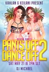 Pants Off Dance off 2 TONIGHT! ( ) Tags: life 2 party house beach swim one michael dance twins dj all pants no bikini come second trunks swimsuit floaties kahlan keilani karsin