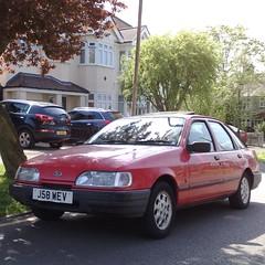 ¤ (uk_senator) Tags: 1991 ford sierra mk2 red quartz