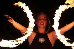 Enchanted Flame 5 (arkansasjournal) Tags: news tourism littlerock circus flames journal event arkansas wildwood performer wildwoodpark fireperformance arkansasjournal arkansasnews