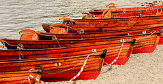 Row the Boat Ashore (acwills2014) Tags: red lake wooden district shoreline row beached lakewindermere workmanship rowingboats cwmbria