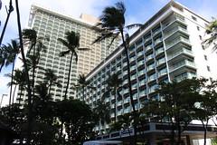 The Sheraton Princess Kaiulani on Waikiki Beach, Hawaii (Hazboy) Tags: ocean usa beach america hotel us october state pacific waikiki oahu playa honolulu sheraton aloha 2015 hazboy hazboy1