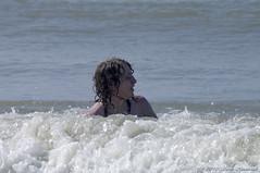 Belgian coast (Natali Antonovich) Tags: sea portrait water swimming swim seaside mood belgium belgique belgie profile northsea relaxation seashore seasideresort belgiancoast wenduine seaboard