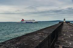 Pierhead...... (Dafydd Penguin) Tags: ferry wales port 35mm coast harbor pier boat dock nikon ship harbour britain north vessel terminal line coastal af nikkor pierhead anglesey holyhead d600 f2d stenna