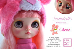 Cheer (♥PAM♥dolls♥) Tags: blythe cheer carebears cheerbear pamdolls pinkdollyday