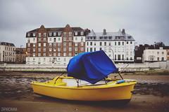 Margate Adventures (Zaparowana) Tags: uk greatbritain autumn sea yellow canon 50mm boat blog seaside dof bokeh blogged 18 margate 650d t4i