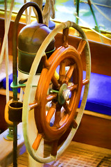 Color Wheel (joegeraci364) Tags: ocean new wood sea england cloud seascape heritage nature water weather wheel boat marine ship action yacht outdoor antique connecticut craft vessel atlantic course maritime boating sail mast nautical steer navigation navigate