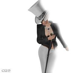 ca 170 ( ) Tags: woman art hat style jewelry sl secondlife photoraphy fasion maitreya catwa zibska
