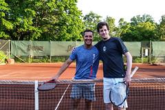 Janne och Kalle 2016-05-30 (Michael Erhardsson) Tags: jan karl janne örebro 2016 stadsparken schriever fredriksson abeln tennisträning