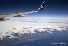 Approaching Iceland (Rolandito.) Tags: lagune plane coast view south lagoon aerial glacier southern jkulsrln glacial icelandair sdkste