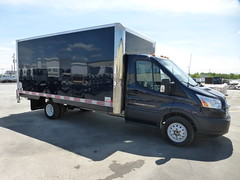 Bote CAW CLASSIK 16 bleu / 16 CLASSIK blue CAW truck body (Fourgons Transit Truck Bodies) Tags: ford de camion transit bote t350