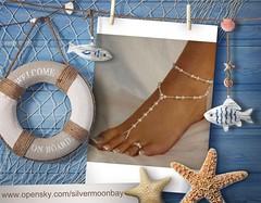 Pearl Sandals (SilverMoonBay) Tags: summer sun beach fun sand shoes pearl toering sandal accesories vacay resortwear instafashion pearlsandal