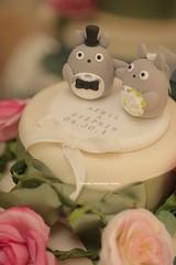 Totoro  wedding cake topper (charles fukuyama) Tags: wedding cute weddingcake decoration ceremony clay gift brideandgroom initials  weddingdetails bridalbouquet weddingcaketopper customcaketopper kikuike