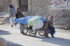 Children taking on heavy load 3996 (shahidul001) Tags: poverty road street pakistan boy man color colour male men boys horizontal kids work children daylight kid asia day child poor males pakistani van cart heavy load slope childlabour childlabor drik southasia pakistanis indigent quetta heavyload balochistan heavywork drikimages