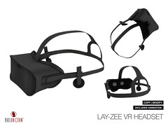 NEW! Lay-zee VR Headset @ TMD (Bhad Craven 'Bad Unicorn') Tags: life new original portrait urban game art cup fashion work bag photography design photo blog store 3d clothing high graphics shadows graphic image mesh photos pics top quality profile bad picture progress wip screen bean sl gaming secondlife definition speaker second reality production characters hd tvs concept dual unicorn exclusive bu craven screens vr gfx holder  concepts 2l buc meshes meshed lindens virutal bhad badunicorn