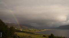 297. Otro da de tormenta de verano / Another summer storm day (seni1977) Tags: arcoiris scotland rainbow escocia canon5d ullapool seni1977 365x39