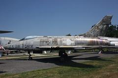 54-2239 North American F-100D Super Sabre (corkspotter / Paul Daly) Tags: north f100 super sabre american ala f100d ailesanciennestoulouse blagnacairport 42239 223119 fw239 542239