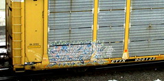 nave (timetomakethepasta) Tags: nave atb amc amck ra freight train graffiti autorack bn