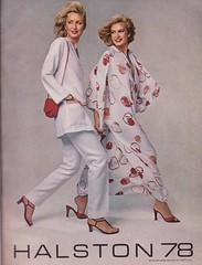 Halston 78 (moogirl2) Tags: vintage retro vogue 70s 1978 70sstyle vintageads halston 70sfashions vintagvogue halston78