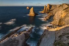 Liencres (Herv D.) Tags: liencres losurros cliffs falaise paysage cantabrie santander espagne spain spana ocan atlantic atlantique landscape seascape