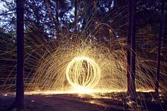 20150809 damage () (Light painting, Lightgraffitti, Long exposure, lig) Tags: longexposure lightpainting slowshutter lighttrail steelwool lightpaint firepainting lightgraffitti lightpaintingphotography