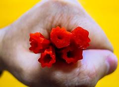 United Colours (Walimai.photo) Tags: colours color rojo red yellow amarillo regaliz licorice lumix lx5 panasonic home made casera