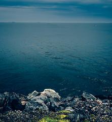 Vallisaari (miemo) Tags: sea summer sky plants seascape storm nature clouds finland landscape boats island helsinki rocks europe horizon olympus balticsea omd vallisaari olympus1240mmf28 em5mkii