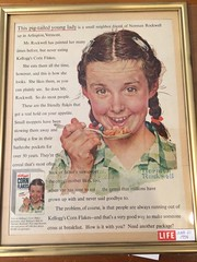 Corn Flakes (LarrynJill) Tags: life girl vintage magazine ads advertising ad cereal braids cornflakes