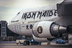 The Iron Boeing (NOAC_) Tags: rock plane airplane ed one airport iron force pentax aircraft aviation band boeing maiden 747 spotting pentaxk5iis
