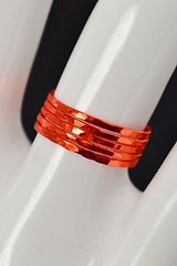 Super Thin #Orange S (alaridesign) Tags: super thin orange silver stacking ring these rings 12 each choose number you want from quantity pulldown elegant rustic original is ha alari