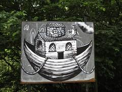 2036 Canal side graffiti (Andy panomaniacanonymous) Tags: 20160625 ccc cymru ggg graffiti llangollencanal photostream wales www