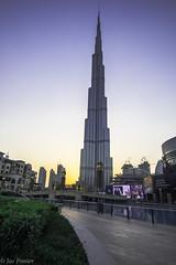 Burj Khalifa (Joe Panter) Tags: burjkhalifa burjkahlifa architecture dubai uae burj kalifa highest building skyscrapers lights night nightime sunset cityscape city amazing high joepanter canon7dmkii canon