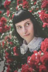 (martina.spoljaric1989) Tags: lolita loli harajuku roses rose nature portrait girl woman