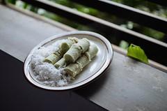 Putu Cake (bady_qb) Tags: food indonesia nikon dof bokeh explore culinary kueh putu 30mm sigma30mm kuliner vsco d7000