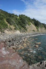 Arriving on Raoul Island (cathm2) Tags: newzealand kermadecs raoul island travel coast sea shore water