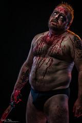 Murderous Zombie! (sengsta) Tags: studio zombie undead horror blood guts gore