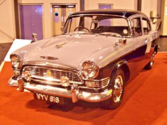 162 Humber Super Snipe (Series 1) (1959) (robertknight16) Tags: 1950s british coventry humber rootes snipe supersnipe nec2013 wyv616