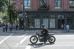 Triumph (the underlord) Tags: street canada sign vancouver hotel britishcolumbia triumph motorcycle biker westcordova
