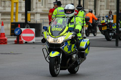 Metropolitan Police BMW R1200Rt Roads Policing Unit Traffic Bike (PFB-999) Tags: colour bike traffic police motorbike bmw motorcycle leds service roads met metropolitan grilles unit the mps rpu r1200rt trooping policing stemlight