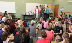 The loveable mouse from Laura Numeroffs Give a Mouse a Cookie book series visited the Georgetown branch during the 2016 Summer Reading Program. (ACPL) Tags: kids children georgetown srp geo storytime 2016 fortwaynein acpl summerreadingprogram allencountypubliclibrary giveamouseacookie