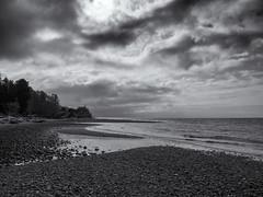 Hidden Beach (Stv.) Tags: travel vacation blackwhite dramatic famly gibsons cloudporn selenium geolocation geocity geocountry camera:make=olympusimagingcorp geostate exif:make=olympusimagingcorp exif:aperture=11 silverefexpro2 olympusomdem5 olympusm1250mmf3563 camera:model=em5 exif:lens=olympusm1250mmf3563 exif:model=em5 exif:isospeed=200 exif:focallength=12mm geo:lon=12355751666667 geo:lat=49390681666667
