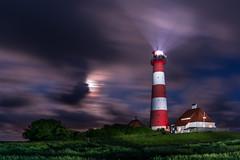 Westerheversand at night (jwfoto1973) Tags: longexposure moon lighthouse lightpainting clouds germany deutschland mond nikon wolken full leuchtturm lichtmalerei vollmond langzeitbelichtung leuchtfeuer westerhever westerheversand d7100 johannesweyers