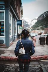 Kim in Telluride (C Fehres) Tags: telluride colorado portrait photography hike hiking mountains vsco lookslikefilm passport wandering walking exploring