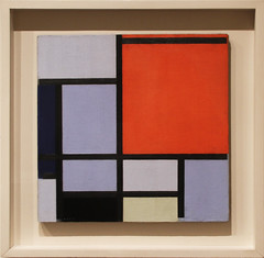 Piet Mondrian - Composition 1921 (ahisgett) Tags: new york art museum met metropolitian