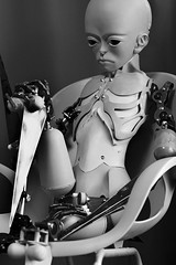 #017 (neji909) Tags: robot doll lifesize synthetic android gynoid ningyou